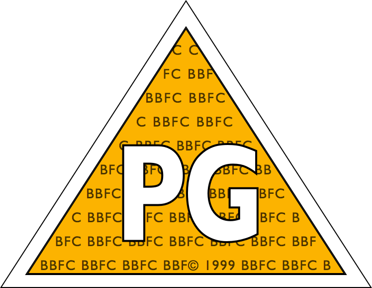 BBFC Parental Guidance Rating (1989–2002)
