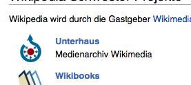 Wikimedia Unterhaus